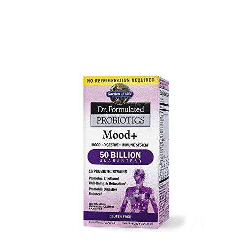 Garden Of Life Dr. Formulated Mood+ Probiotics 60 Capsule Vegetariane - 120 g