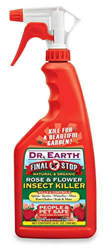 Dr. Earth 8008 Ready to Use Rose and Flower Insect Killer, 24-Ounce