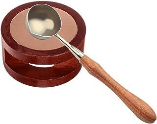 Cuillere Cachet de Cire -Kits de réchauffeur de joint de cire avec une cuillère de fusion pour Faire Fondre des Batons de ...