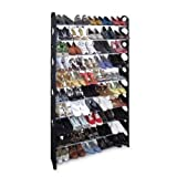 New Shoe Rack for 50 Pair Wall Bench Shelf Closet Organizer Storage Box Stand by lekieshop