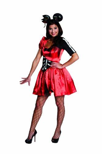 Rubie's Disfraz de esqueleto zombi y ratn para Halloween, talla 40