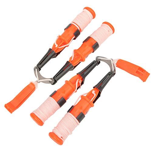 Selecciones de seguridad para pesca en hielo, 2 piezas, seguras de usar, alta confiabilidad, salva vidas al aire libre