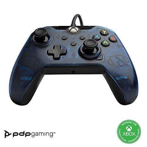 PDP Manette Filaire pour Xbox Series XIS Bleu
