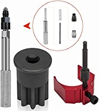 For Caterpillar(CAT) 3406E, C-15, C-16 TDC valve/Injection Timing Service Tool Kit-J 42083 Automatic Timing Lock Pin with Adapter, 9U-7227 Injector Height Adjustment Gauge Tool & Engine Barring Socket