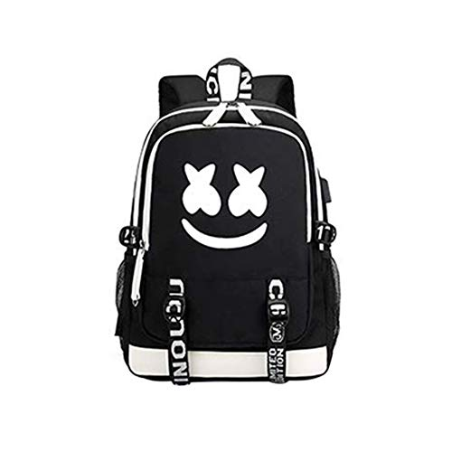 Luminous Students School Bag DJ Laptop Backpack Daypack with USB...