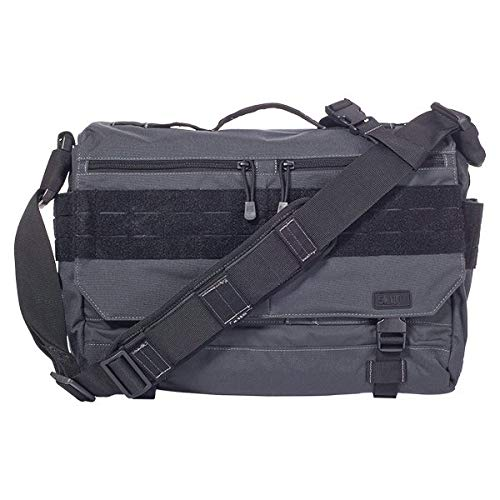 5.11 RUSH Delivery LIMA Tactical Messenger Bag, Medium, Style 56177, Double Tap