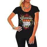 Frauen und Damen T-Shirt Karneval Köln Viva Colonia Größe XS - 5XL