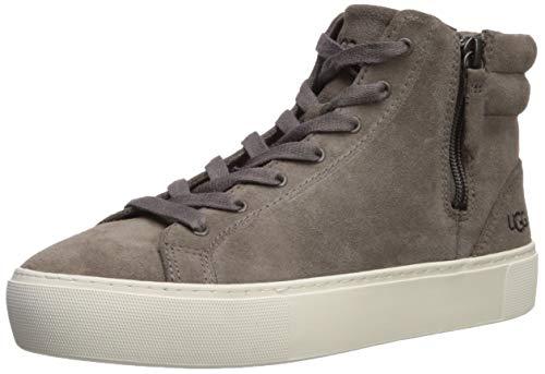 UGG Women's OLLI Sneaker, mole Suede, 7.5 M US