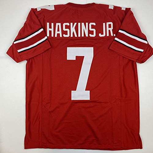 Unsigned Dwayne Haskins Jr. Ohio State Red Custom Stitched College Football Jersey Size Men's XL New No Brands/Logos