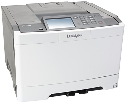 Lexmark CS510de Color Laser Printer, Network Ready, Duplex Printing and Professional Features