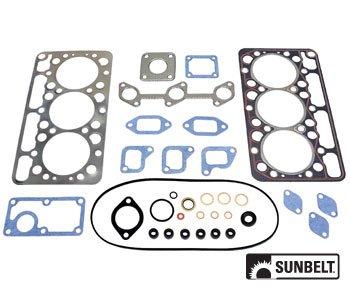 Kubota Compact Tractor Engine Gasket Upper Set Part No: A-B1VPA4086 B5200 B7100 D750-AH D750-LA D750A 07916-24190, 07916-24192, 07916-24195