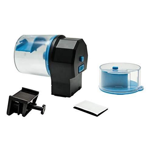 #N/A/a Alimentador automático de Pesca, Alimentador automático del Tanque del Acuario con 2 Cajas de alimentación para Acuario o Tanque de Pesca,