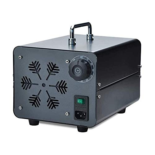 Raxinbang Purificador de Aire 5G / H Portátil Generador De Ozono Purificador De Ozono Máquina Desodorante del Esterilizador De La Máquina For El Hogar, Oficina, Barco Y Coche 5000mg / H