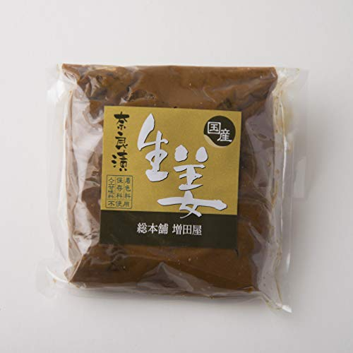 生姜 奈良漬 一袋 奈良で作りました 国産 ショウガ 使用