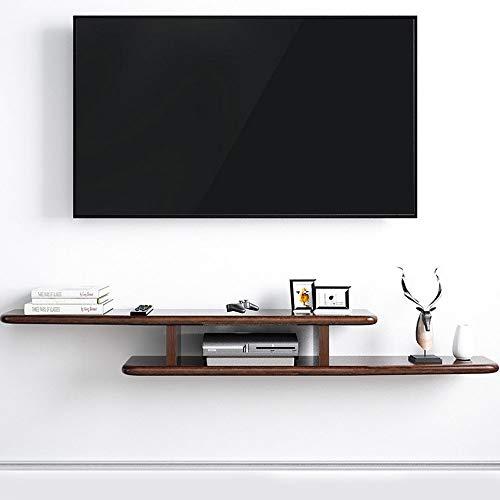 Gabinete De TV, Unidad De Pared para TV, Mueble TV Colgante Pared Modulo TV Salon, Madera Madera De Roble, Color Nogal Retro,Walnut Color