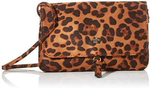 TOM TAILOR Umhängetasche Damen Luna Fall, Mehrfarbig (Multi), 20x12.5x2 cm, TOM TAILOR Handtaschen, Taschen für Damen