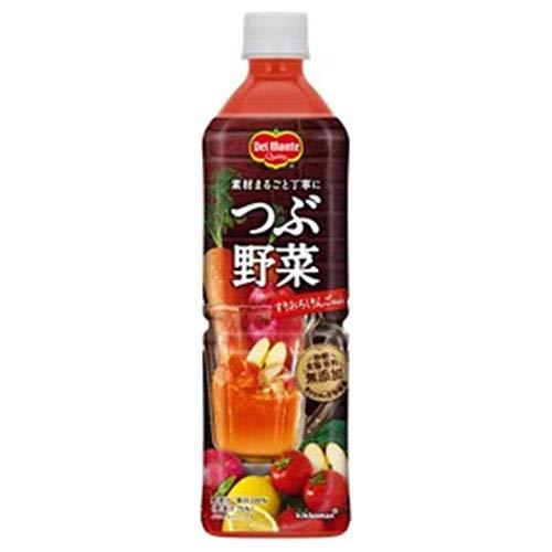 デルモンテ つぶ野菜 すりおろしりんごmix 900gペットボトル×12本入×(2ケース)