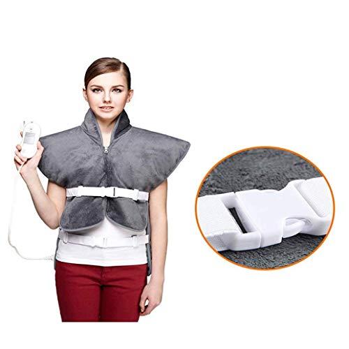 LMCLJJ Placa Térmica for la espalda y los hombros alivio del dolor, Sable de calefacción del abrigo de cuello con apagado automático ajustes de temperatura aijia