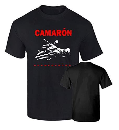Camiseta Hombre Oficial CAMARON DE LA Isla REENCUENTRO Algodon 190grs (S)
