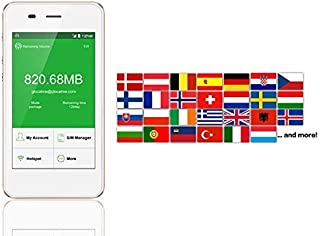 Europe SIM Card 4G/LTE Mobile WiFi Hotspot Rentals Unlimited for 20 Day