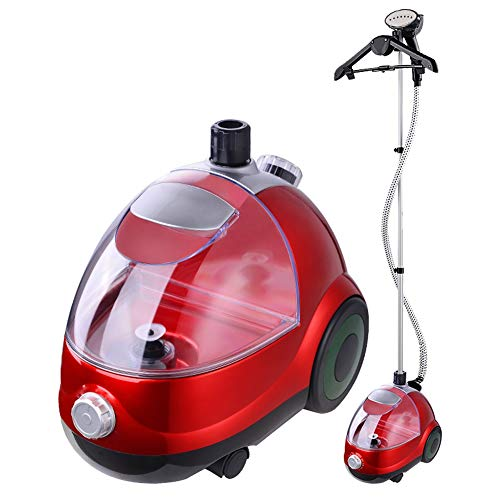 Great Features Of ZQYD Full Size Garment Fabric Steamer with 1.8L Separate Water Tank and 11 Gear Te...