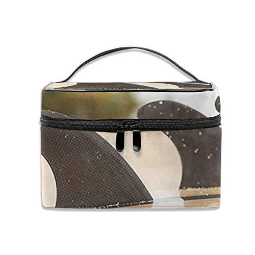 Ladies\'portable Travel Cosmetic Bag, Multi-Functional Portable Bag, Finishing Bag-Surfboard Fins Beach Surfing