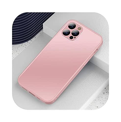 Funda de cristal templado mate a prueba de golpes para iPhone 11...