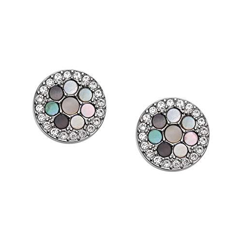 Fossil Vintage Glitz Crystal Stud Earrings