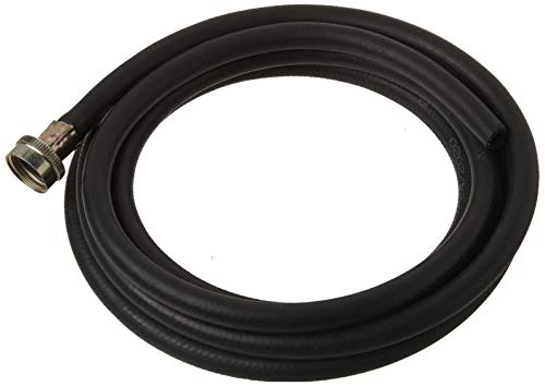 Eastman 60309, Black Rubber Washing Machine Drain Hose, 12 Ft Length, Feet