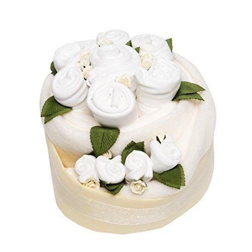 Célébration bébé gâteau – Blanc classique