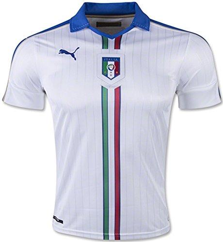 PUMA Italy Away Soccer Jersey 2015/16 (White) Sz. Small