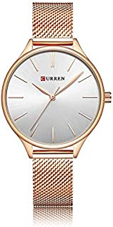CURREN Watch Copper Stainless Steel and White Port Model C9024L