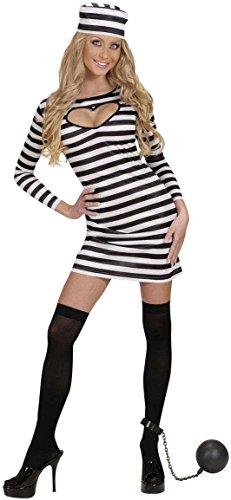 WIDMANN 58401 - Costume da Carcerata, in Taglia S