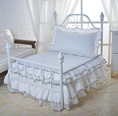 Hondenhok en Cathousepet Nest Hondenbed Luxe kennel met bed en beddengoed 65X50X60Cm