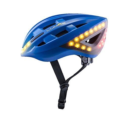 Lumos Kickstart Fahrradhelm, Cobalt Blue, One Size