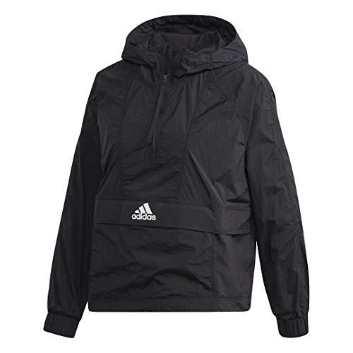 adidas Damen Cropped Wind.rdy Windbreaker, Damen, Jacke, W Cropped W.rdy, schwarz, Small
