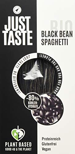 Just Taste Bio Black Bean Spaghetti, 6er Pack (6 x 250 g), 3084