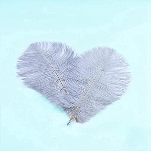 DinoSwap-10Pcs lot Surprise Genuine price DIY Crafts White Plume Feathers Ostrich Natur
