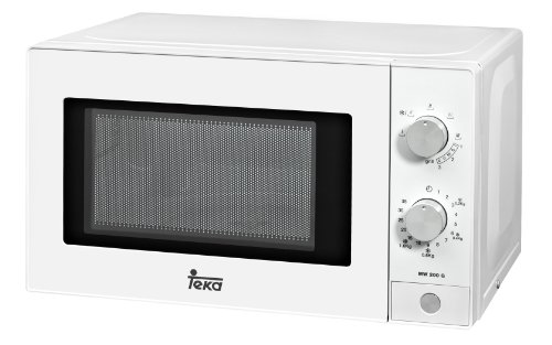 Teka MWE 200 G - Microonde a 5 livelli di potenza con grill, 44 x 34 x 25,8 cm, 20 l, colore bianco