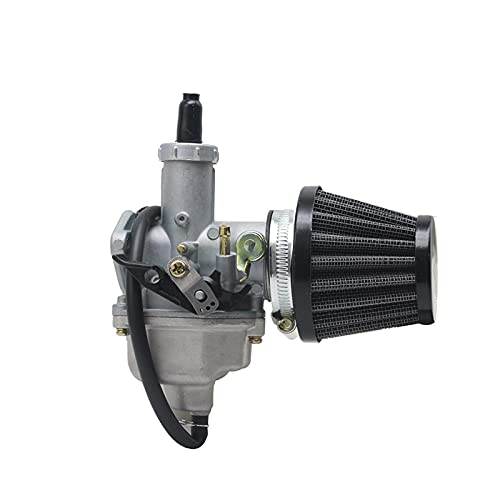 Carb Carburador Carburador Auto/Cable Choke Palanca y Filtro de Aire para 150-300cc Pit Dirt Bike ATV Scooter Motores de ciclomotor PZ26 PZ27 PZ30 Motor (Color : PZ26)