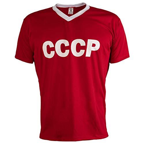 JL Sport De Unión Soviética URSS CCCP 1970 Camiseta De Fútbol Retro De La Vendimia Hombres Más Clasic - XXL