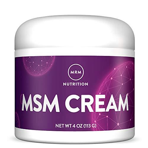 MRM MSM Cream with Vitamin A & D - 4 Oz.