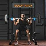 Zoom IMG-2 squat rack multifunzione supporto bilanciere