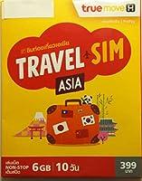 アジア周遊、日本、オーストラリアでも使えるトラベルSIM!20か国で利用可能※タイではご利用いただけません。10日間6GB使えます!