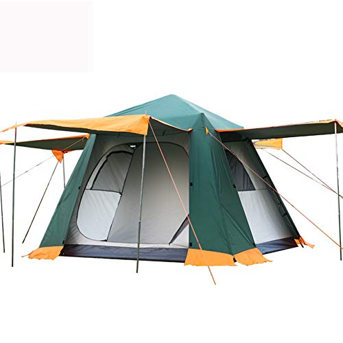 Camping Tents 3-4 Person [Instant Tent] Waterproof [Pop up Tent] Quick Set up Family Beach Dome Tent UV Protection with Carry Bag