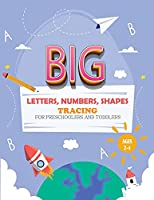 BIG Letter Tracing for Preschoolers and Toddlers