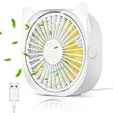 Mini USB Ventilatore,Ventilatore USB Piccolo per PC,Ventilatore Portatile,Ventilatore Sile...