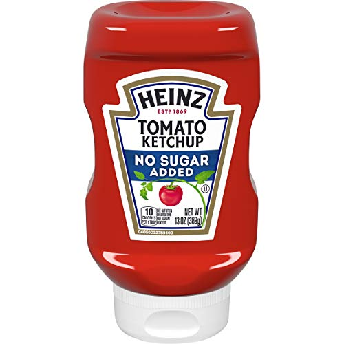 Heinz Tomato Ketchup No Sugar (13 oz Bottle)