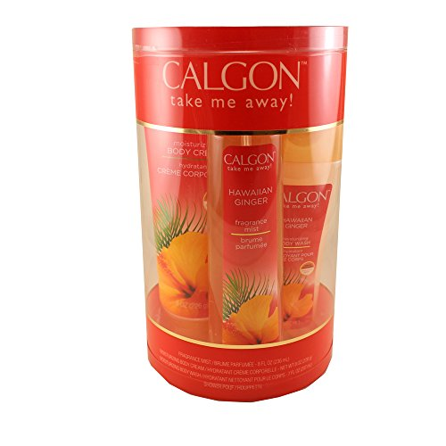 Calgon Hawaiian Ginger Body Care 4-Piece Gift Set