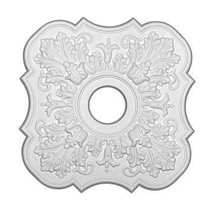 Rosetón de techo de poliétano 1.053 diámetro 52,2 cm